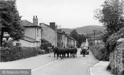 Heathfield Terrace c.1955, Bovey Tracey