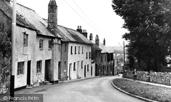 Bovey Tracey, Mary Street c.1955