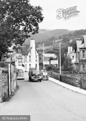 Bovey Tracey, Milk Truck c.1955
