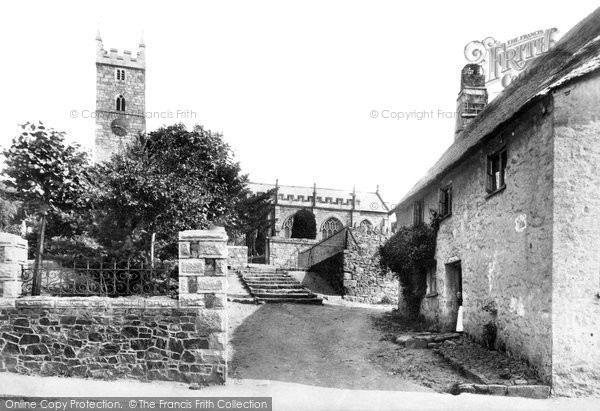 Bovey Tracey, Parish Church 1907