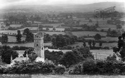Parish Church 1925, Bovey Tracey
