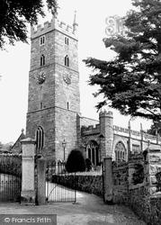 Parish Church c.1955, Bovey Tracey