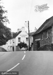 Bovey Tracey, Riverside Hotel c.1965