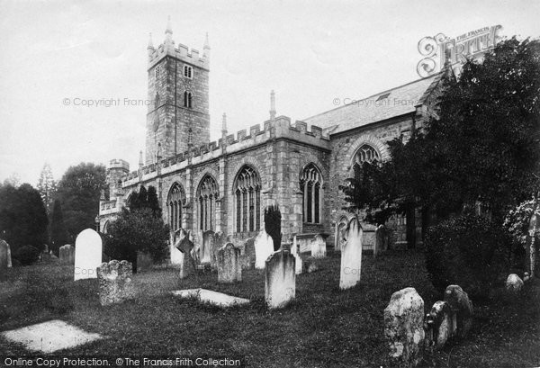 Bovey Tracey, St Peter, St Paul And St Thomas Of Canterbury 1907