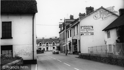 Station Road c.1965, Bovey Tracey