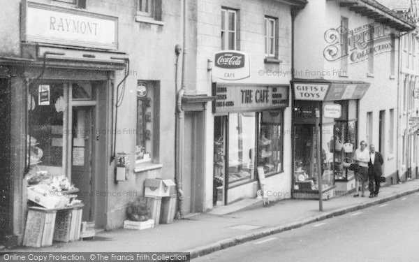 Bovey Tracey The Cafe Fore Street C1965