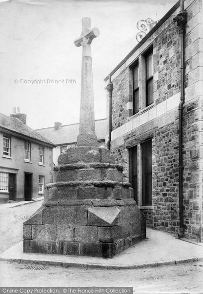 Bovey Tracey, The Cross 1907