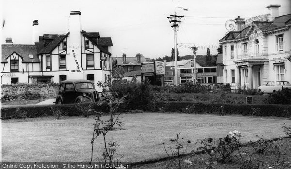 Bovey Tracey, The Dartmoor And Dolphin Hotels c.1965