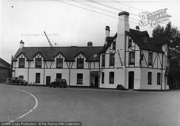 Bovey Tracey, The Dartmoor Hotel c.1950