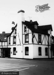 Bovey Tracey, The Datmoor Hotel c.1965