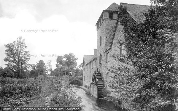 Bovey Tracey,The Mill 1920,Devon