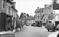 The Square c.1955, Bovey Tracey