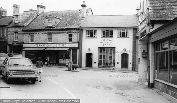 Bovey Tracey, The Square c.1965
