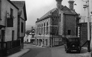 Bovey Tracey, Town Hall c.1950