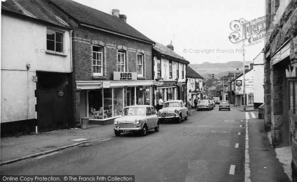 Bovey Tracey, Town Hall Place c.1965