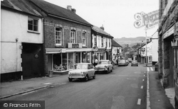 Town Hall Place c.1965, Bovey Tracey