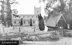 Bovingdon, The Parish Church c.1955