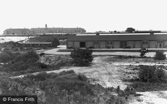 Bovington, view from Tank Training Grounds c1955
