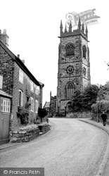 Bowdon, Church And Old Cottages c.1965