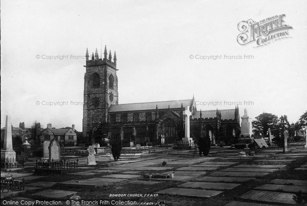 Bowdon, Church Of St Mary The Virgin 1897