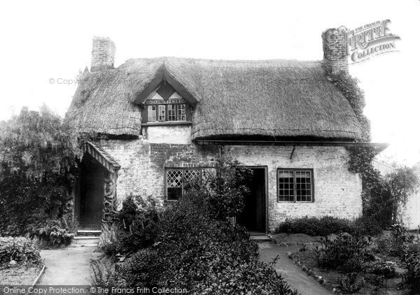 Bowdon, South Down Road, Old Cottage 1897