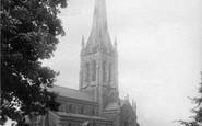 Bowdon, St Margaret's Church 1892