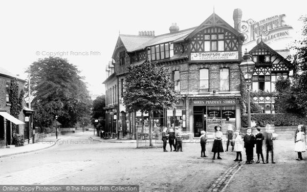 Bowdon, The Polygon, Stamford Road 1907