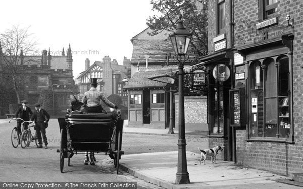 Bowdon, The Village Shop 1913
