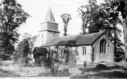 Bowers Gifford, Church c.1955
