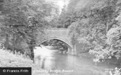Bowes, Gilmonby Bridge c.1950