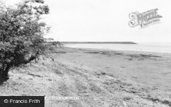 Bowness On Solway, The Beach c.1955