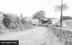 Bowness On Solway, To The West c.1955