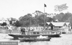Bowness-on-Windermere, A Pleasure Boat By The Pier 1887, Bowness-on-Windermere