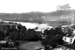 Bowness-on-Windermere, And Belle Island 1893