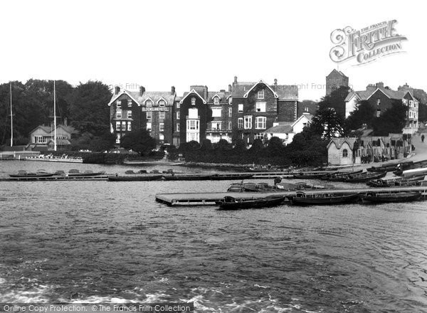 Bowness On Windermere, Bay And Old England Hotel 1925