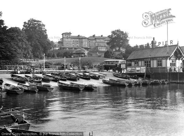 Bowness-On-Windermere, Belsfield Hotel 1925.  (Neg. 77882)  � Copyright The Francis Frith Collection 2008. http://www.francisfrith.com