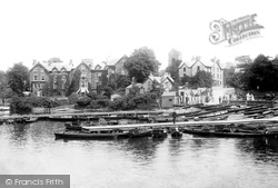 Bowness-on-Windermere, Boat Station And Old England Hotel 1893