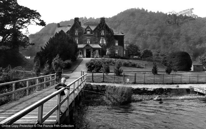 Bowness On Windermere, Ferry Hotel 1925