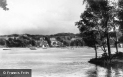 Bowness-on-Windermere, From Belle Isle c.1950, Bowness-on-Windermere