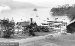 Bowness-on-Windermere, From Belsfield Hotel 1912, Bowness-on-Windermere