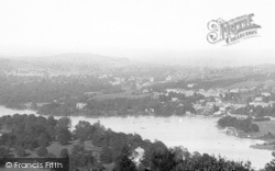 Bowness-on-Windermere, From Furness Fell 1896, Bowness-on-Windermere