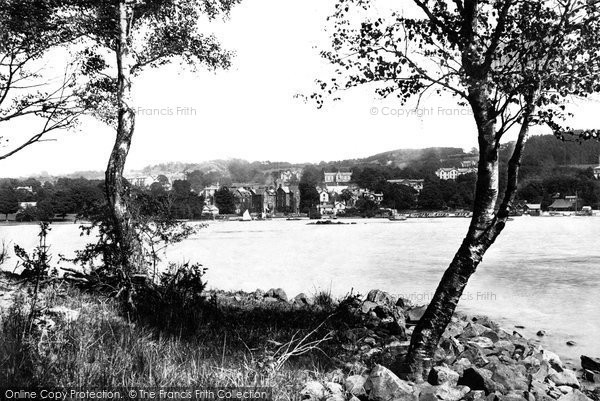 Bowness On Windermere, From The Island 1893