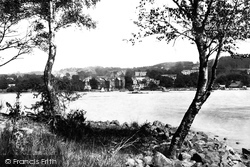 Bowness-on-Windermere, From The Island 1893