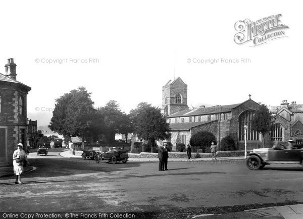 Bowness On Windermere, St Martin's Church 1925
