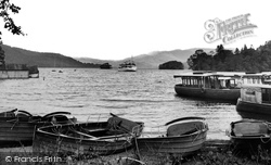 Bowness-on-Windermere, The Arrival Of The 'teal' c.1955