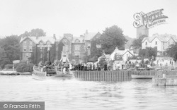 Bowness-on-Windermere, The Boat Station 1896, Bowness-on-Windermere
