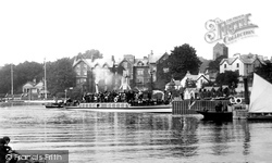 Bowness-on-Windermere, The Boat Station 1896