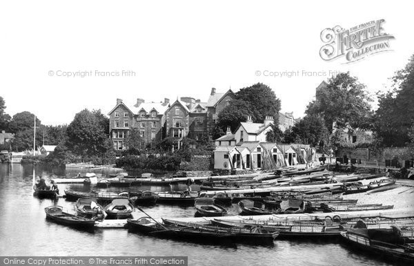 Bowness On Windermere, The Boat Station c.1880