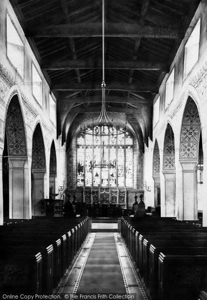 Bowness On Windermere, The Church Interior 1887