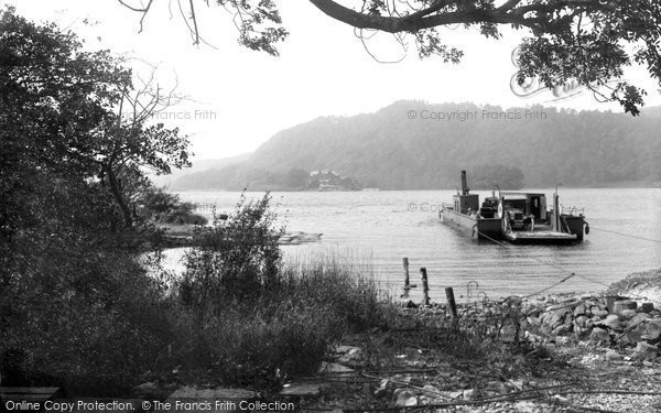Bowness On Windermere, The Ferry 1925